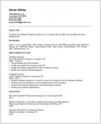 systems engineering resume entry level software engineer resume u2013 resume examples