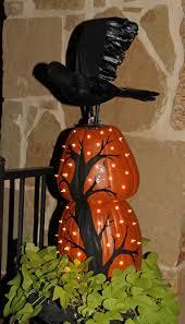 light up pumpkins for halloween stacked pumpkin topiaries home savvy