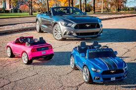 pink power wheels mustang want an electric mustang ford and fisher price are here to help