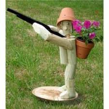 flowerpot garden ornaments fence or plant pot hanger home