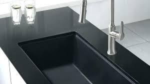 black granite composite sink granite composite kitchen sinks precis cascade granite composite in