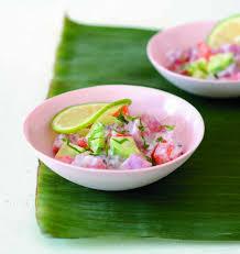 cuisine tahitienne recettes poisson cru mariné à la tahitienne les meilleures recettes de