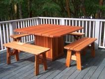 Redwood Dining Table Outdoor Dining Tables Gold Hill Redwood