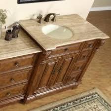 58 Inch Bathroom Vanity Silkroad Exclusive 58 Inch Stone Counter Top Bathroom Vanity
