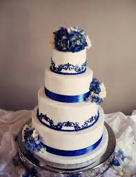 collections of blue wedding cakes pinterest wedding ideas