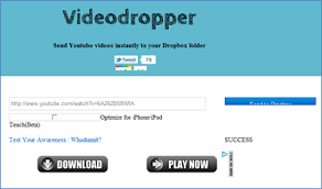 dropbox youtube download videodropper download youtube videos directly to dropbox