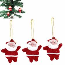 aliexpress buy 9pcs set santa claus tree ornaments