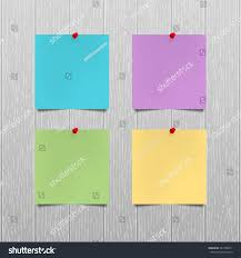 color paper vector mockup sheets color paper red stock vector 547356811