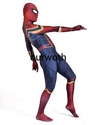 aliexpress com buy homecoming iron spiderman costume 3d print