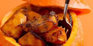 comment cuisiner du potimarron potimarron rôti au miel facile et pas cher recette sur cuisine