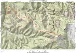 Cedar City Utah Map by Blowhard Mountain