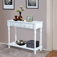 Foyer Table With Drawers Console Tables Ebay