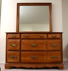 Sumter Bedroom Furniture by Sumter Cabinet Co Dresser And Mirror Ebth