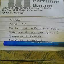 Parfum Refill Palembang in parfume batam