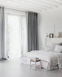Curtains In The Bedroom Loving The Grey Drapes With The Sheers Underneath Lacy And