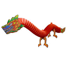 paper dragons hanging party party decoration paper dragons