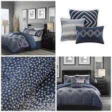 Navy Blue Bedding Set by Bedroom Queen Size Comforter Sets To Give Your Bedroom Feel
