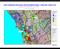 san francisco land use map interjurisdictional land use conflicts in california