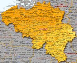 map of begium belgium map map all maps of the world