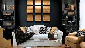 Black And Gold Living Room Ideas ecoexperienciaselsalvador