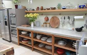 kitchen island worktops polished concrete worktops light fixtures brown wooden kitchen