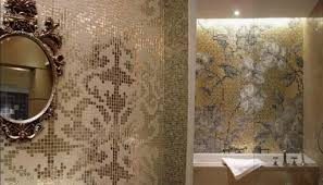 mirror tiles for bathroom walls crystal mosaic tile patterns 20x20mm gold glass tile backsplash 2131b