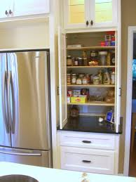 Modern Kitchen Pantry Designs - kitchen room modern kitchen pantry cabinet with hanging black