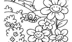 spring coloring pages freefree coloring pages kids free
