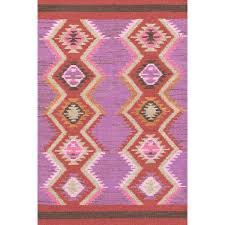 Lilac Runner Rug Rhapsody Wool Woven Rug Dash Albert