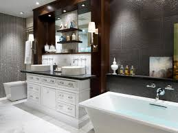simple creative home interior design bathroom ideas for trendy hctalh glamorous bathroom tub vanity toilet aftergnd hgtvcom