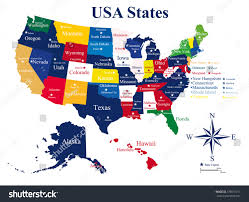usa map states map usa states with capitals