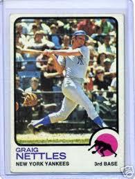 Yankees Toaster Baseball Toaster Bronx Banter Card Corner Graig Nettles