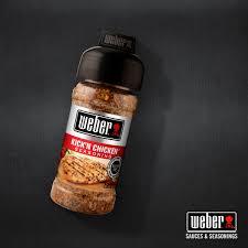 Backyard Seasoning Kick U0027n Chicken Seasoning Weber Sauces U0026 Seasonings