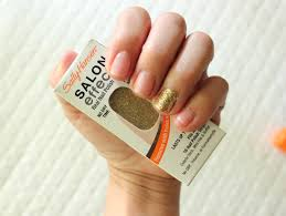 design brand plan product review sally hansen gel manicure