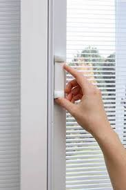 Doors With Internal Blinds All About Patio Doors With Built In Blinds Feldco
