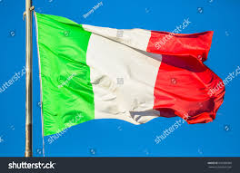Flag That Is Green White And Red Italy Flag Waving Green White Red Stock Photo 620390900 Shutterstock