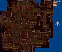 Final Fantasy 6 World Map by Snes Final Fantasy 6 Vector Exterior Ruins The Spriters