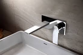 wall mount basin faucet flat square faucets products innoci