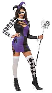 Halloween Costumes Jester Naughty Jester Women Halloween Costume 31 99