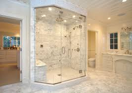 marble bathroom countertops corner whirlpool shower with glass
