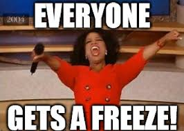 Freezing Meme - report everyone should get a security freeze krebs on security