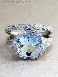 Aquamarine Wedding Rings by 25 Best Aquamarine Wedding Rings Ideas On Pinterest Aquamarine