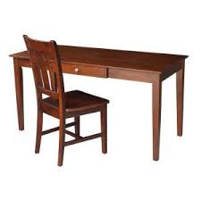 international concepts canyon espresso desk with storage k581