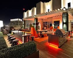 Patio Lighting Options by Afforable Simple Design Interior Pool House Ideas That Has Grey