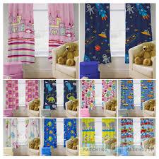 childrens nursery curtains kids junior tweens tape top pencil
