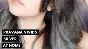 pravana silver hair color silver hair at home pravana chromasilk vivids silver youtube