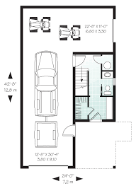 Coolhouseplan Com Garage Plans With A Covered Porch At Coolhouseplans Com
