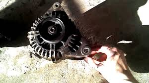 2001 hyundai santa fe alternator replacement best hyundai santa fe 2 7l v6 alternator removal