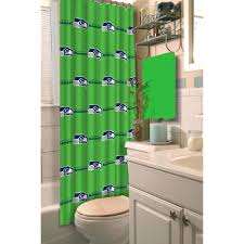 nfl seattle seahawks decorative bath collection shower curtain