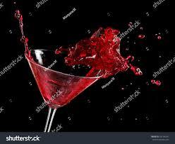 red martini red cocktail splash martini glass stock photo 101246341 shutterstock